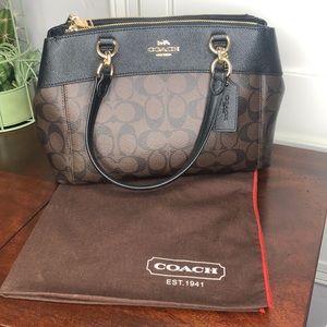 Coach Mini Brooke Carryall Satchel Crossbody Bag